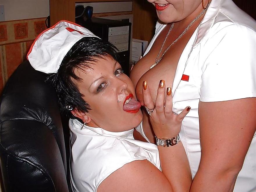Gekleidet BBW lesbische Partei