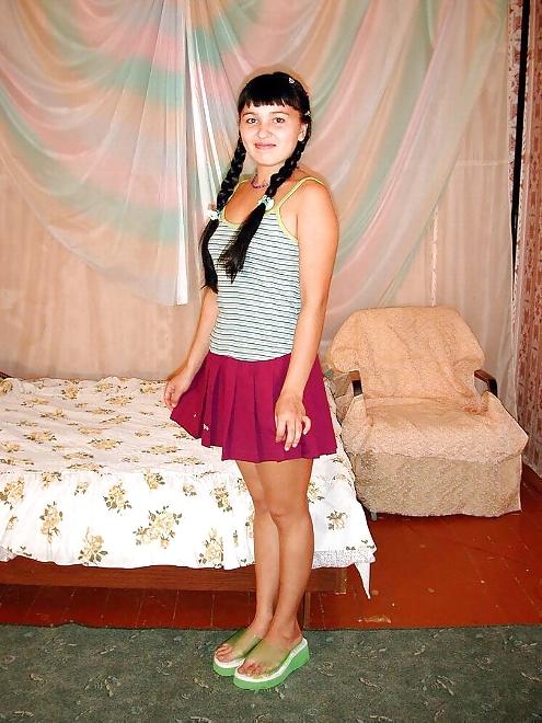 Haarige amateur teenager Mädchen